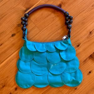 "Teal ""Mermaid"" Purse"